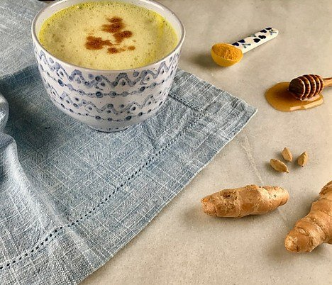 ginger and turmeric milk
