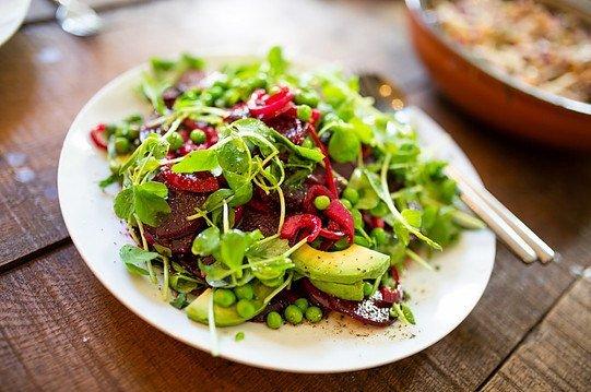 a vegetables salad